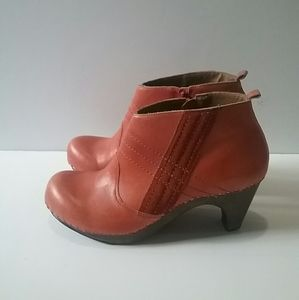 Anthropologie Schuler & Sons Clog Ankle Booties